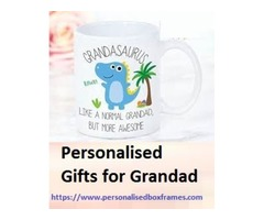 Personalised Gifts for Dad – Personalisedboxframes