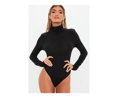 Mae Women's Seamless Plunge Bodysuit