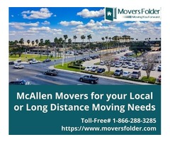 McAllen Movers for your Local or Long Distance Moving Needs