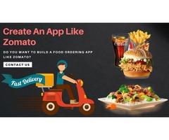 Create an App like Zomato