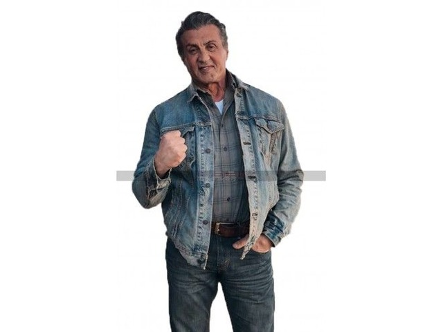 Rambo Last Blood Sylvester Stallone Denim Jacket   free-classifieds-usa.com