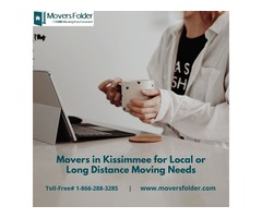 Movers in Kissimmee for Local or Long Distance Moving Needs