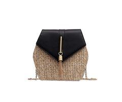 Grass Chain Crossbody Bags