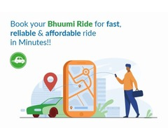 The Bhuumi ridesharing app has come up with exciting features!