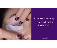 Elevate the way you look with Lash Lift!