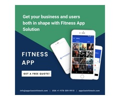 Best Fitness and Health Mobile App Development Service
