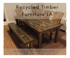 Buy Now Recycled Timber Furniture LA - Reclaimed Wood Los Angeles