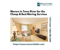Movers in Toms River for the Cheap & Best Moving Services