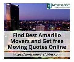 Find Best Amarillo Movers and Get free Moving Quotes Online