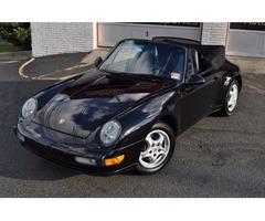1997 Porsche 911 Carrera 993 911 Cabriolet Triple Black 6-Speed 38k