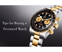Tips for Buying a Preowned Watch