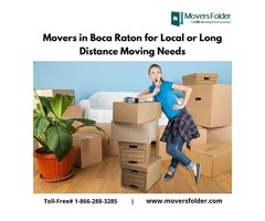 Movers in Boca Raton for Local or Long Distance Moving Needs
