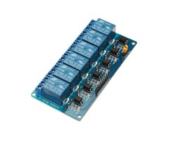 BESTEP 6 Channel 12V Relay Module Low Level Trigger With Optocoupler Isolation For Arduino