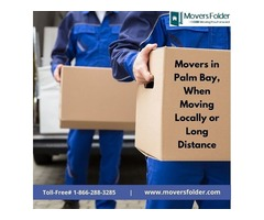 Movers in Palm Bay - When Moving Locally or Long Distance