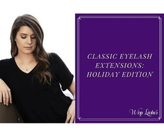 Classic Eyelash Extensions: Holiday Edition