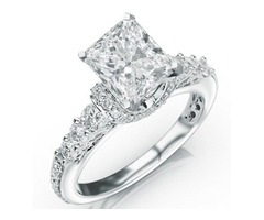 Here's One For All You Brides To Be, A 1.35 Carat Princess Cut