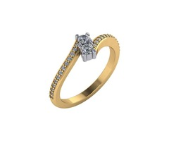 TWO STONE RING - SKU: 27574L