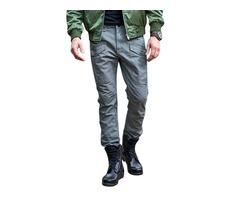 Men's Outdoor Cotton Tactical Loose Military Cargo Pants