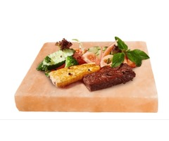 Salt Cooking Plate, Salt Slab or Salt Cooking Slab - Pink Salt Wall