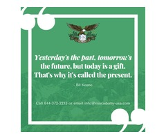 The Present is a Gift – Online Medical Assistant Class