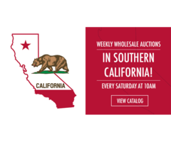 Live Wholesale Auction in California, don't miss it!