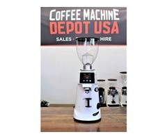 Wide range of Fiorenzato electronic commercial coffee grinders online AT Coffee Machine Depot USA.