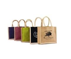 custom printed burlap bags