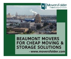 Beaumont Movers for Cheap Moving & Storage Solutions
