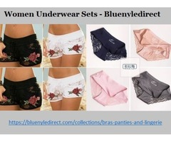 Find So Many Options On Women Underwear Sets At Bluenyledirect