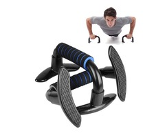 KALOAD I-shaped Fitness Push Up Stand Fitness Equipment Gym Home Muscle Training Push Up Bars