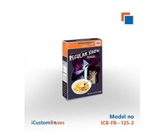 Get custom cereal boxes wholesale at iCustomBoxes