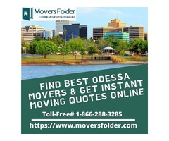 Find Best Odessa Movers & Get Instant Moving Quotes Online