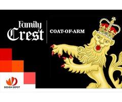 design custom family crest, coat of arm