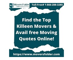 Find the Top Killeen Movers & Avail free Moving Quotes