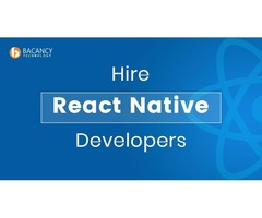 Hire React Native Developer| Starting from $22 on an hourly basis
