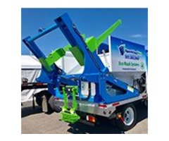 Residential trash can cleaning service