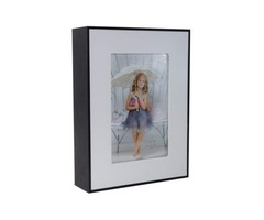 Diversion Safe Can Photo Frame (Black And White)