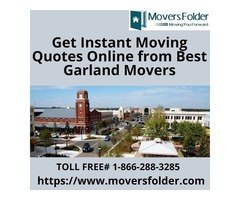 Get Instant Moving Quotes Online from Best Garland Movers