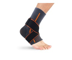 KALOAD Polyester Fiber Fitness Sports Ankle Support Guard Breathable Gym Ankle Protective Ankle Brac