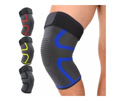 KALOAD Nylon Sports Protective Fitness Knee Pad Support Breathable Gym Exercise Knee Brace Protector