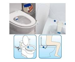 HESHE Bathroom Smart Toilet Seat Bidet Intelligent Toilet Flushing Sanitary Device