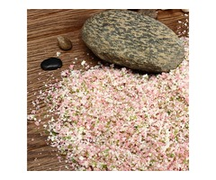 DIY Handmade Building Model Material Grass Tree Powder Pink Mixture Pollen