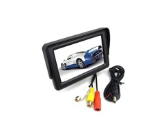 4.3 Inch TFT LCD Car Rear View Monitor Color Screen For CCTV Camera
