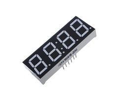 4Pcs 7-Segment 0.56 Inch 4 Digit 12 Pins Red LED Display