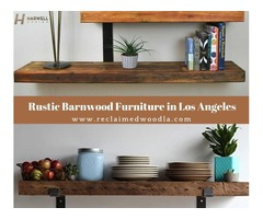 Shop for Rustic Barnwood Furniture in Los Angeles