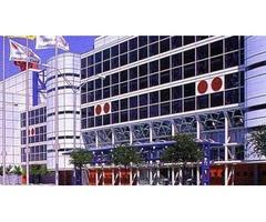 Shop Window Film For Convention Center | Commercialwindowshield.com