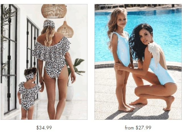 Mommy & Me Swimsuits - Miabellebaby   free-classifieds-usa.com