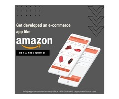 Create an e-Commerce mobile app like Amazon