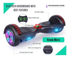 Best Hoverboard With Bluetooth And Lights