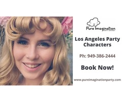 Los Angeles Party Characters |Hire Party Characters Now